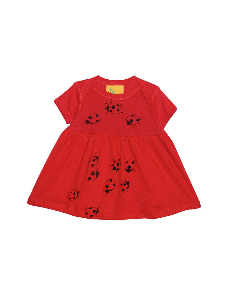 Red Ladybug Dress