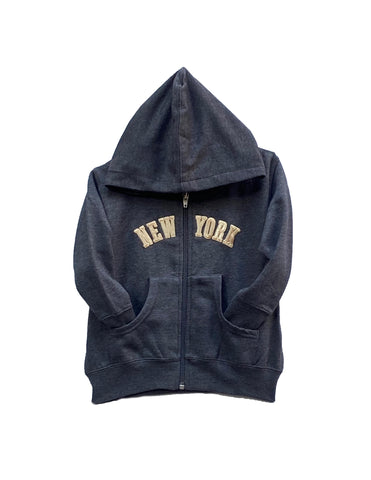 Charcoal Gray New York Hoodie