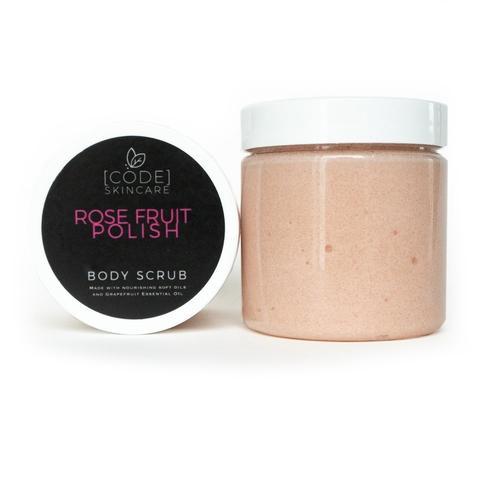 Rose Fruit Grapefruit Natural Body Polish Scrub | AmeriSkin Naturals