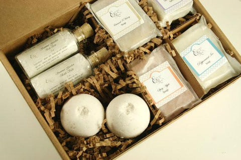 Pampering Spa Bath Gift Set | AmeriSkin Naturals