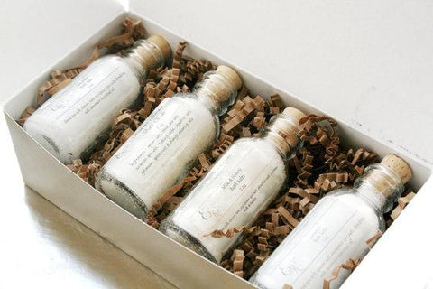 Luxury Bath Salts Spa Gift Set | AmeriSkin Naturals