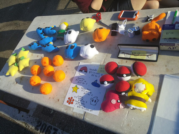 Lesly's Plushes Traders Village 4/25/2015