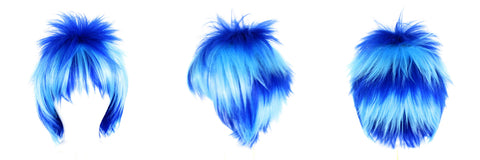 Royal Sky Blue Layered Wig Shadow Anime August 2015 Giveaway