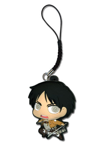 Attack On Titan - Eren Cell Phone Charm Shadow Anime