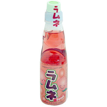 Ramune Soda Peach 6.6 oz