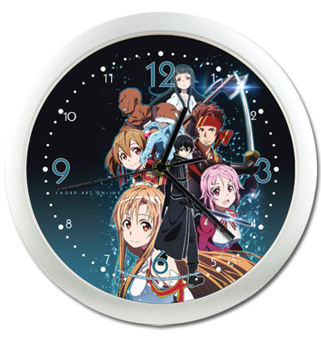 Sword Art Online - Wall Clock Shadow Anime