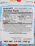 Nestle Japanese Kit Kat Nuts & Cranberry Yogurt Flavor Limited Edition Nutrition Facts