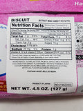 Nestle Japanese Kit Kat Sweet Potato Flavor Limited Edition Nutrition Facts