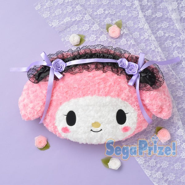 Sega Sanrio My Melody Gothic Lolita Plush Pillow Cushion