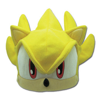 Sonic The Hedgehog - Super Sonic Fleece Hat Shadow Anime