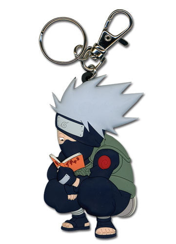 Naruto - Kakashi Reading The Paradise Keychain Shadow Anime