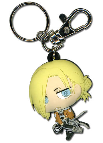 Attack On Titan - Annie Keychain Shadow Anime