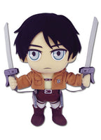 Attack On Titan - Eren Plush Shadow Anime