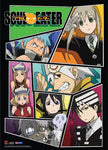 Soul Eater Group Wall Scroll