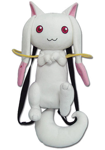Madoka Magica Kyubey Plush Backpack Bag