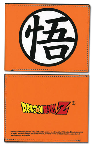 Dragon Ball Z Super Goku Symbol Bifold Wallet