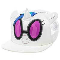 My Little Pony DJ Pon-3 White Snapback Trucker Hat