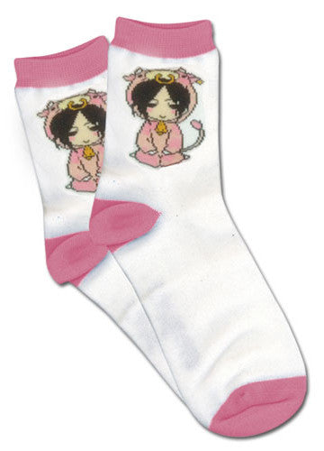 Black Butler - Cow Sebastian Socks Shadow Anime