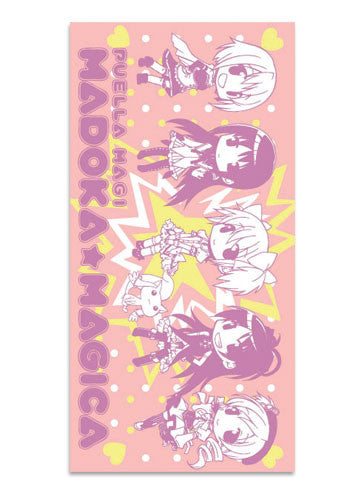 Madoka Magica - Group Towel Shadow Anime