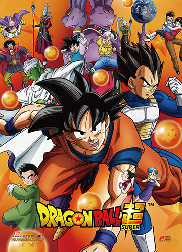 Dragon Ball Super Key Art Wall Scroll