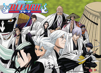 Bleach Captains Group Wall Scroll