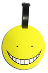 Assassination Classroom Kuro Sensei Face Luggage Tag