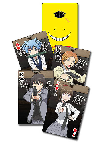 Assassination Classroom Poker Playing Cards