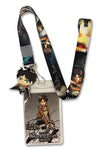 Attack On Titan Eren Lanyard W/ Charm