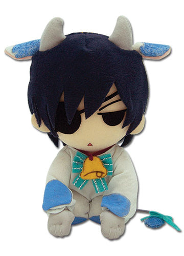 "Black Butler Ciel 7"" Cow Cosplay Plush Doll"