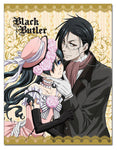 Black Butler Ciel & Sebastian Throw Blanket