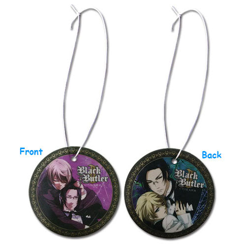 Black Butler Claude & Alois Air Freshener
