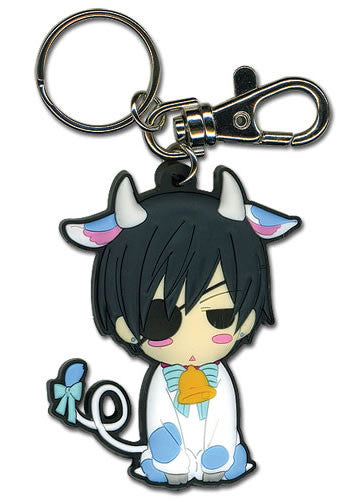 Black Butler - Cow Ciel Keychain Shadow Anime