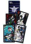 Black Butler Kuroshitsuji Group Playing Cards