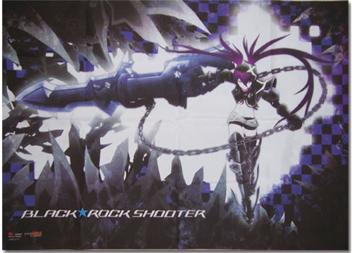 Black Rock Shooter Insane Black Rock Shooter Wall Scroll
