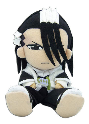 "Bleach Byakuya Kuchiki 8"" Sitting Pose Plush Doll"
