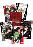 Code Geass Group Poker Playing Cards