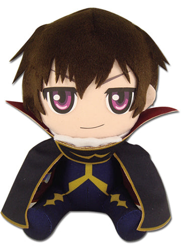 "Code Geass Zero Lelouch 7"" Sitting Plush Doll"