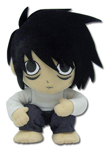 "Death Note L 7"" Sitting Plush Doll"
