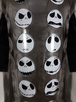 Disney The Nightmare Before Christmas Jack Faces Pint Glass 16 oz Close Up