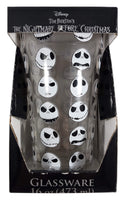 Disney The Nightmare Before Christmas Jack Faces Pint Glass 16 oz