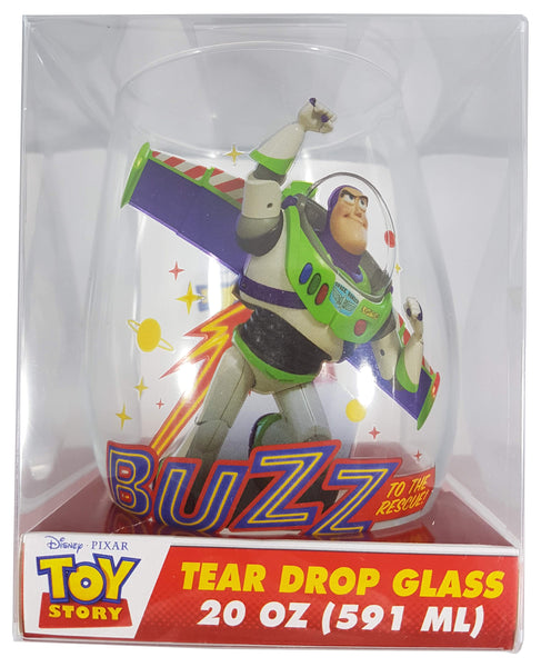 Disney Toy Story Buzz Lightyear Tear Drop Wine Glass