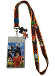 Dragon Ball Super Key Art Lanyard W/ Goku Charm