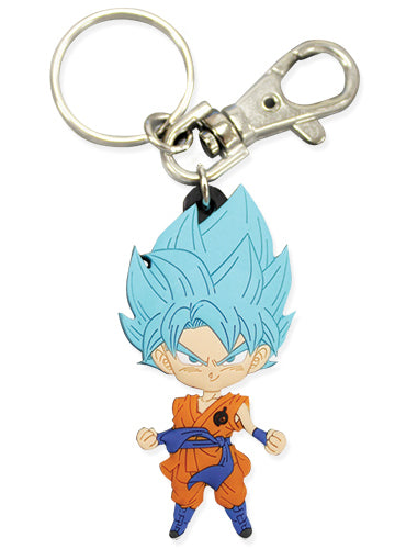 Dragon Ball Super SSGSS Goku Key Chain
