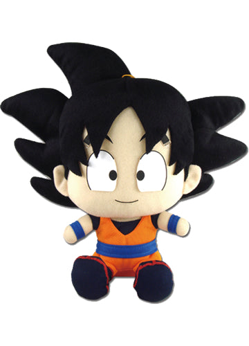 Dragon Ball Z Goku Sitting Plush Doll Shadow Anime