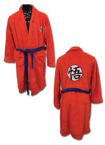 Dragon Ball Z Goku Symbol Bath Robe