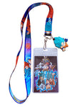 Dragon Ball Z Resurrection F SSGSS Goku Lanyard W/ Charm