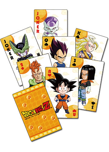 Dragon Ball Z SD Group Poker Playing Cards