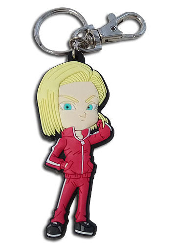 Dragon Ball Z Super Android 18 SD PVC Key Chain