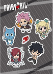 Fairy Tail Group Season 8 SD Sticker Set