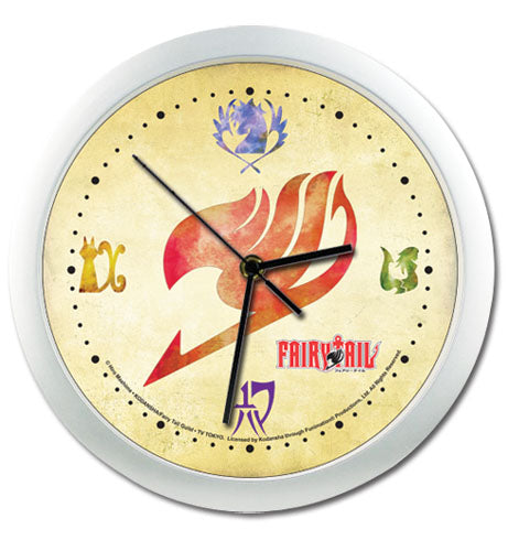 Fairy Tail Guilds Wall Clock